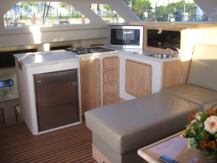 the galley (Fancy boating name for Kitchen)
