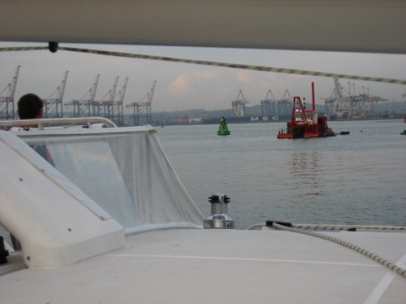 Entering Durban Harbour