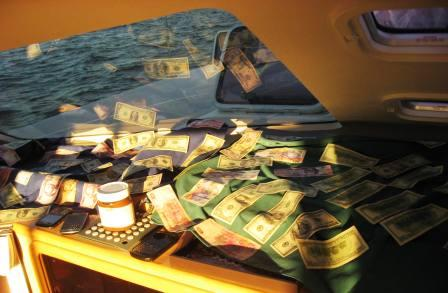 drying the cash